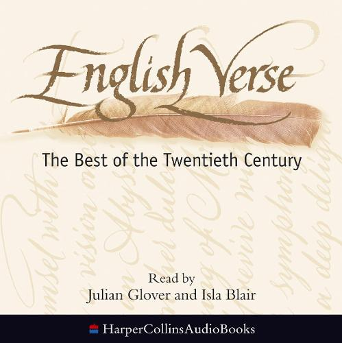 English Verse: The Best of the Twentieth Century (CD-Audio)