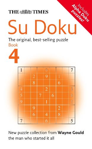 The Times Su Doku Book 4: 100 Original Puzzles (Paperback)