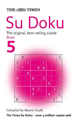 The Times Su Doku Book 5: The Original, Best-selling Puzzle (Paperback)