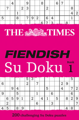 "The ""Times"" Fiendish Su Doku: Fiendish (Paperback)"