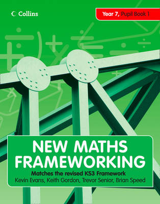 Year 7 Pupil Book 1 (Levels 3-4) - New Maths Frameworking No. 1 (Paperback)