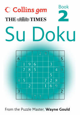 "The ""Times"" Su Doku: Bk. 2 - Collins Gem (Paperback)"