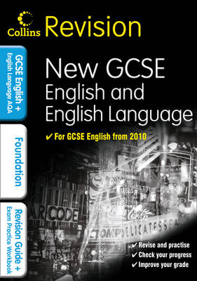 GCSE English & English Language for AQA: Foundation: Revision Guide and Exam Practice Workbook - Collins GCSE Revision (Paperback)