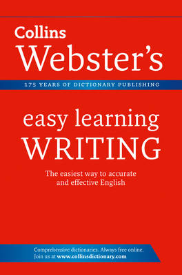 Writing - Collins Webster's Easy Learning (Paperback)