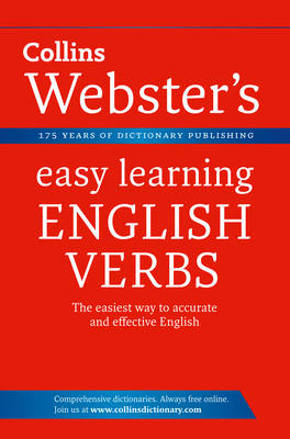 English Verbs - Collins Webster's Easy Learning (Paperback)