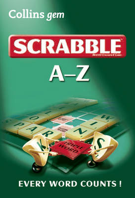 A-Z of Scrabble - Collins gem (Paperback)