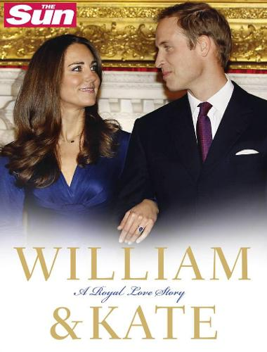 William and Kate: A Royal Love Story (Hardback)