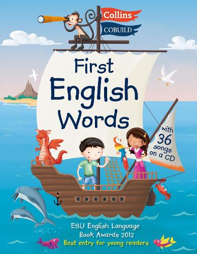 Collins First English Words - First English Words: Age 3-7 - Collins First (Paperback)