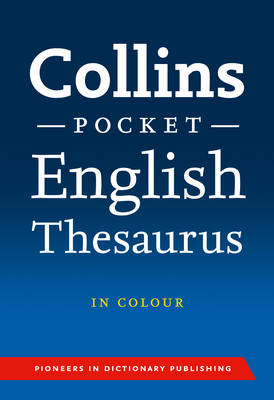 Collins Pocket English Thesaurus - Collins Pocket (Paperback)
