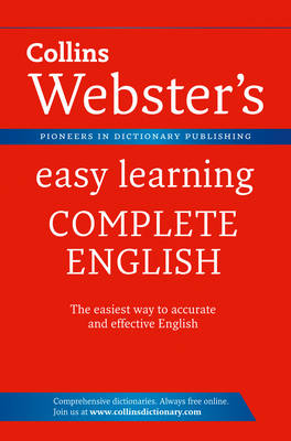 Webster's Easy Learning Complete English - Collins Webster's Easy Learning (Paperback)