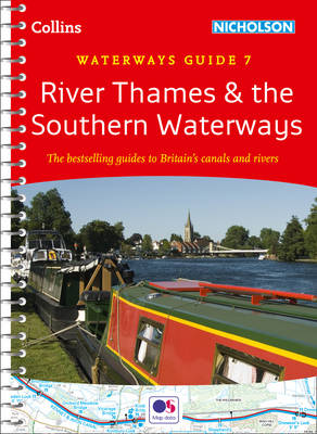 River Thames and Southern Waterways - Collins Nicholson Waterways Guides No. 7 (Spiral bound)