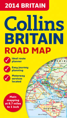 2014 Collins Map of Britain (Sheet map, folded)