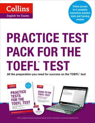 Practice Test Pack for the TOEFL Test - Collins English for the TOEFL Test (Mixed media product)