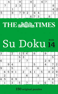 The Times Su Doku Book 14: 150 Original Puzzles (Paperback)