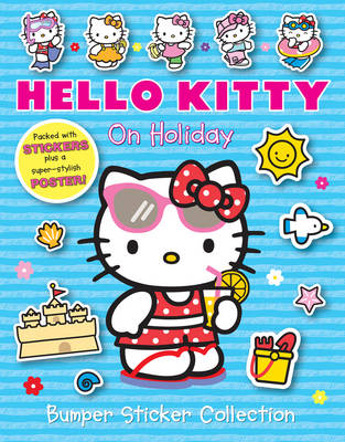 On Holiday Bumper Sticker Collection - Hello Kitty (Paperback)