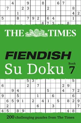 The Times Fiendish Su Doku: Bk. 7 (Paperback)