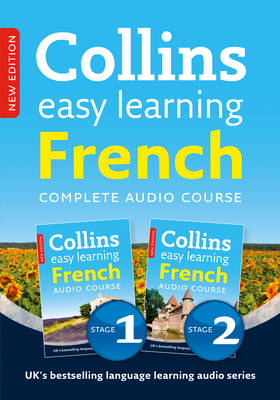 Complete French (Stages 1 and 2) Box Set - Collins Easy Learning Audio Course (CD-Audio)