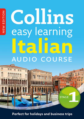 Easy Learning Italian Audio Course - Stage 1: Language Learning the Easy Way with Collins - Collins Easy Learning Audio Course (CD-Audio)
