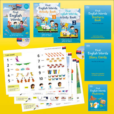 Collins First English Words - Activity Pack: Age 3-7 - Collins First (Mixed media product)
