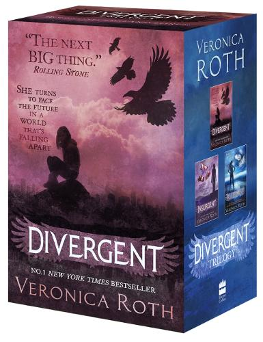 Divergent Series Boxed Set (Books 1-3) (Paperback)