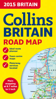 2015 Collins Map of Britain (Sheet map, folded)