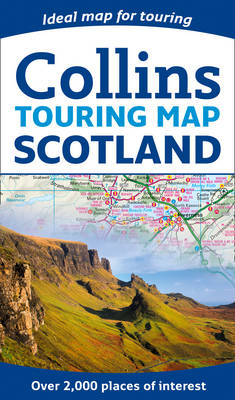 Scotland Touring Map (Sheet map, flat)