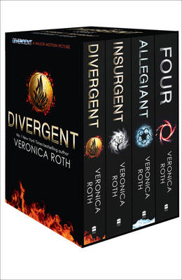 Divergent Series Box Set (Books 1-4 Plus World of Divergent) (Other book format)
