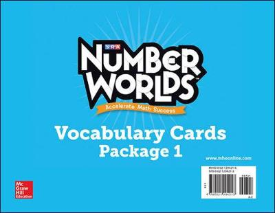 Number Worlds 2007-2008: Vocabulary Cards Levels A-E - Number Worlds (Paperback)