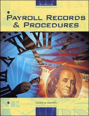 Payroll Records and Procedures (Paperback)