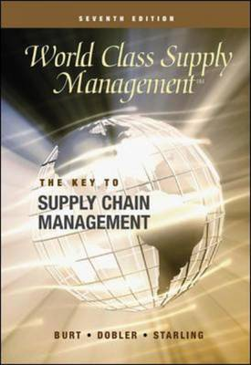 World Class Supply Management: Cases: The Key to Supply Chain Management (Mixed media product)