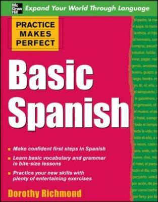 Basic Spanish - Practice Makes Perfect Series (Paperback)