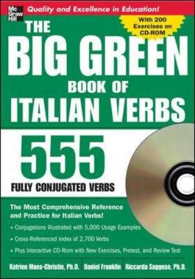 Big Green Book of Italian Verbs: 555 Fully Conjugated Verbs - Big Book of Verbs Series (Mixed media product)