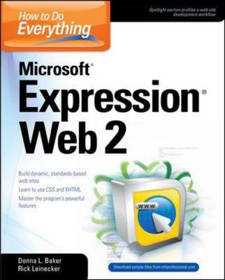How to Do Everything: Microsoft Expression Web 2 - How to Do Everything (Paperback)