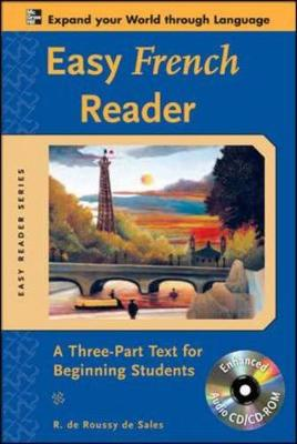 Easy French Reader: A Three-Part Text for Beginning Students - Easy Reader Series (Mixed media product)