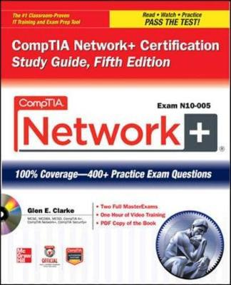 CompTIA Network+ Certification Study Guide,(Exam N10-005) - Comptia Authorized (Mixed media product)