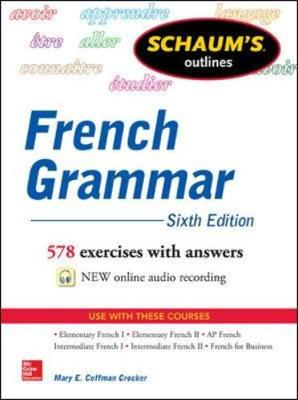 Schaum's Outline of French Grammar - Schaum's Foreign Language Series (Paperback)