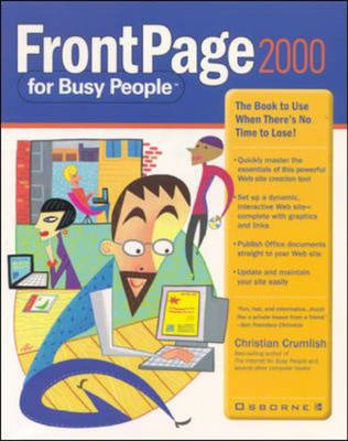 FrontPage 2000 for Busy People - Busy People S. (Paperback)