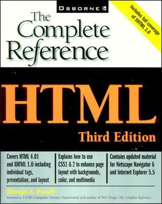 HTML: The Complete Reference - The Complete Reference (Paperback)