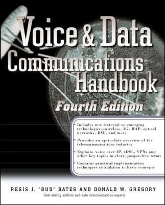 Voice and Data Communications Handbook - Standards & Protocols S. (Paperback)