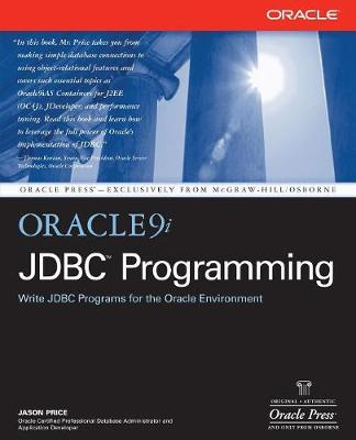 Oracle9i JDBC Programming - Oracle Press Series (Paperback)