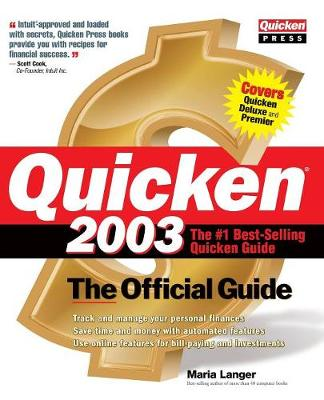 Quicken 2003: The Official Guide (Paperback)