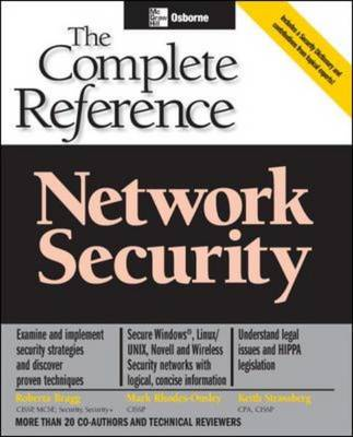 Network Security: The Complete Reference - Osborne Complete Reference Series (Paperback)