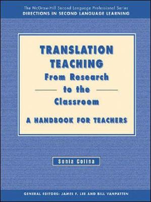 From Research to the Classroom - Teacher's Handbook - Translation Teaching (Paperback)