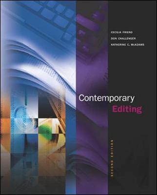 Contemporary Editing: WITH Online Learning Center (Mixed media product)