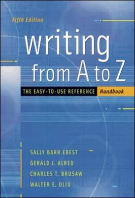 Writing from A to Z with Catalyst Access Card (Spiral bound)