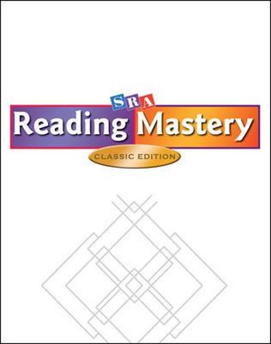 Reading Mastery Classic Level 1, Takehome Workbook A - Read Aloud Libraries (Paperback)