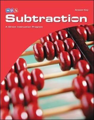 Corrective Mathematics Subtraction, Additional Answer Key - Distar Arithmetic Series (Hardback)