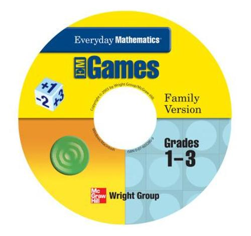 Everyday Mathematics, Grades 1-3, Early Childhood Family Games Package - Everyday Math Manipulative Kit (CD-ROM)