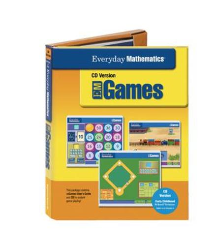 Everyday Mathematics, Grades PK-K, Early Childhood School Games Package - Everyday Math Manipulative Kit (CD-ROM)