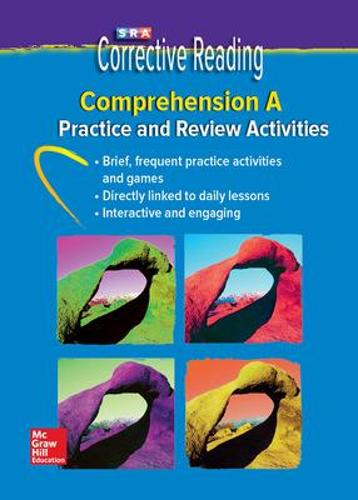 Corrective Reading Comprehension Level A, Student Practice - Read to Achieve (CD-ROM)